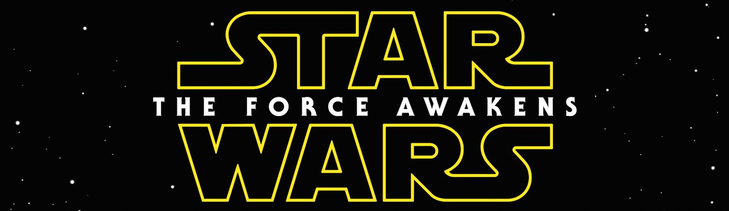 Star Wars: The Force Awakens title banner